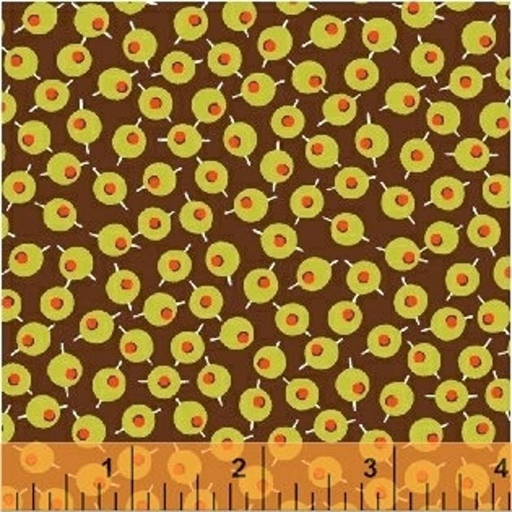 Martini by Another Point of View for Windham Fabrics - (42448-6) - Fat Quarter