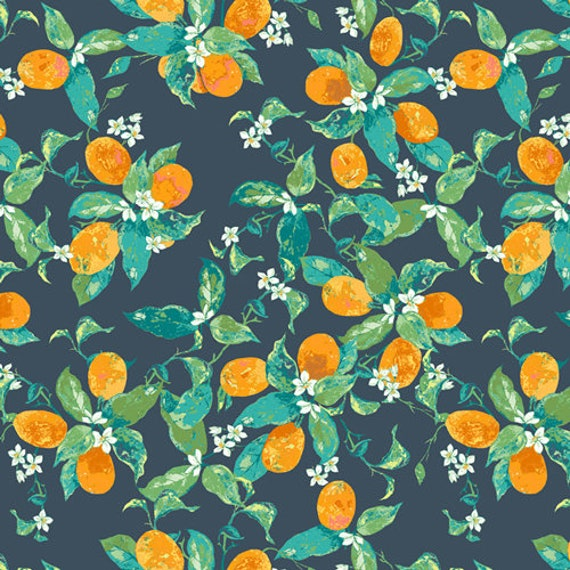 Floralish by Katarina Roccella for Art Gallery Fabrics - Dancing in Fortunella - Fat Quarter