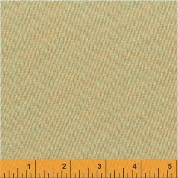 Fat Quarter  - Artisan Cotton - Prach/Turquoise- Another Point of View for Windham - 40171-33