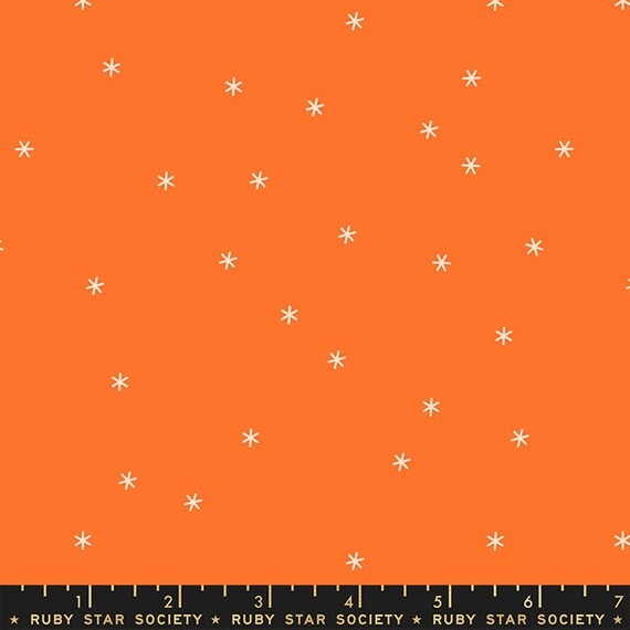Spark in Orange (RS000548) by Ruby Star Society for Moda (Clementine Collection) -- Fat Quarter