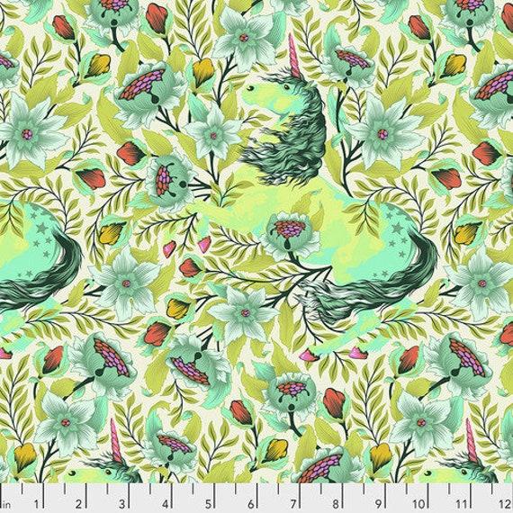 Fat Quarter Imaginarium in Frolic - Tula Pink's Pinkerville for Free Spirit Fabrics