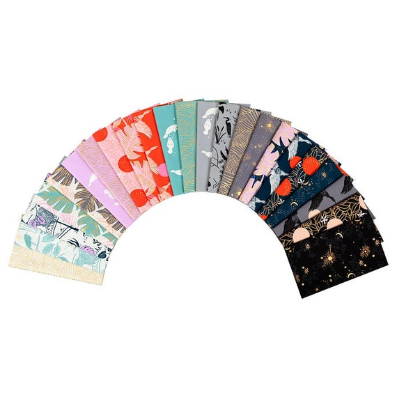 In stock!  Fat Quarter Bundle of Florida by Ruby Star Society Fabrics in Total— 23 prints in total