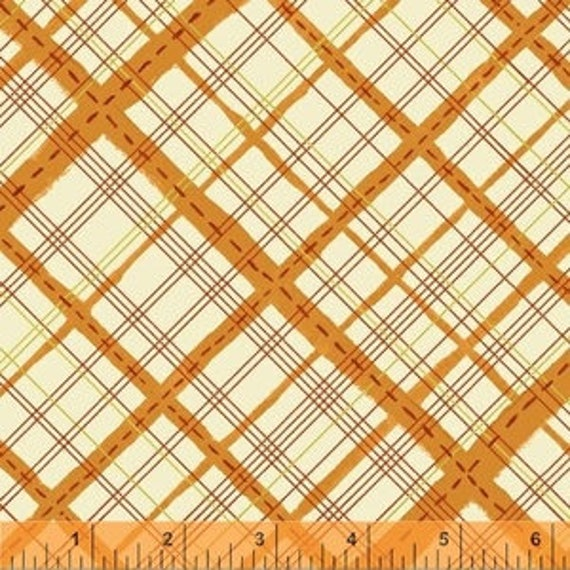 Meriwether by Amy Gibson for Windham Fabrics - Homespun in Monarch - Fat Quarter