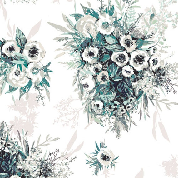 Aquarelle by Katarina Rocella for Art Gallery Fabrics - Buttercups in Still Life