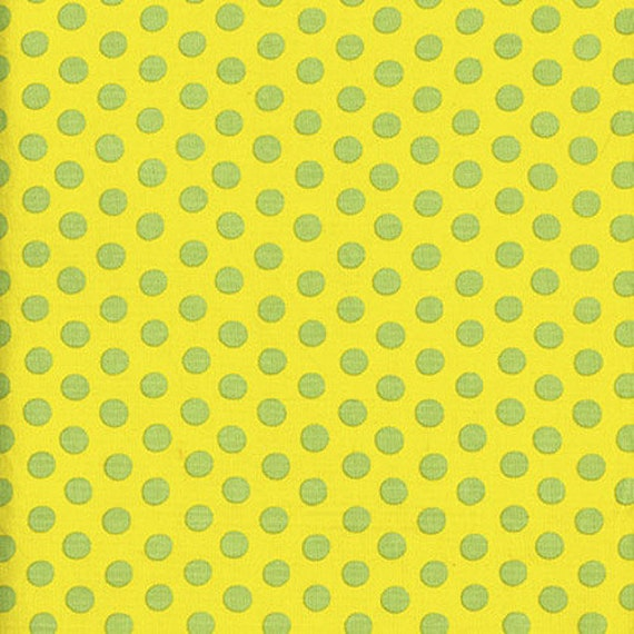 Kaffe Fassett -- Fat Quarter of Spots in Yellow