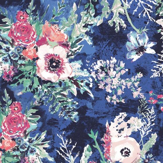 Aquarelle by Katarina Rocella for Art Gallery Fabrics - Impressionist Wash in Crisp