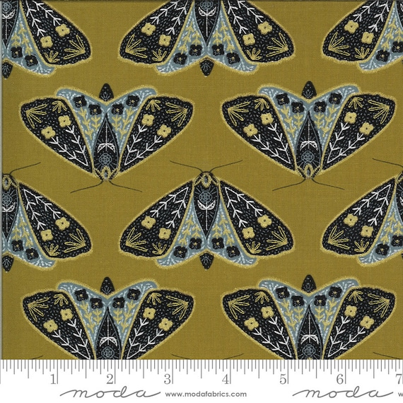 Dwell in Possibility-- Umber (48311 18M) by Gingiber for Moda -- Fat Quarter