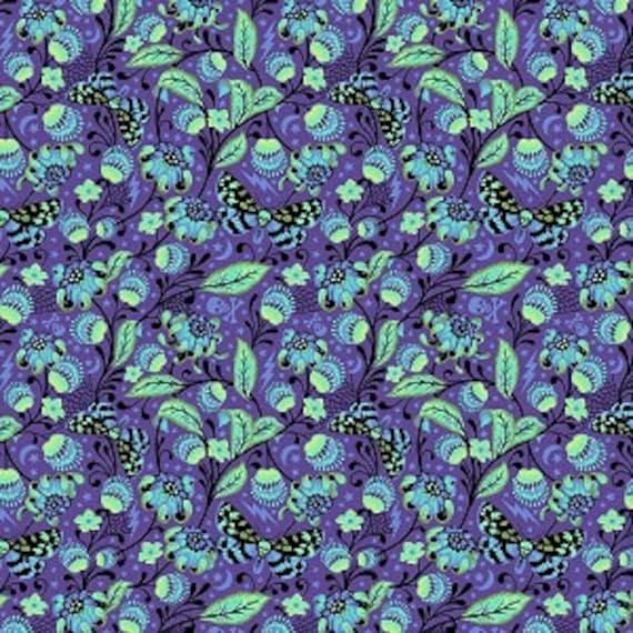 Fat Quarter Venus in Haunted - Tula Pink's De La Luna Fabric for Free Spirit Fabrics