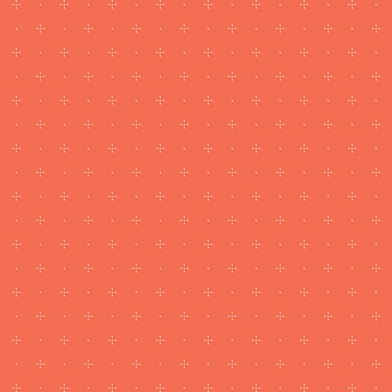 Dew and Moss by Alexandra Bordallo for Art Gallery Fabrics - Fat Quarter of Starry Orange You