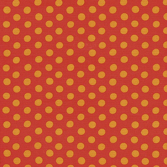Kaffe Fassett -- Fat Quarter of Spots in Red