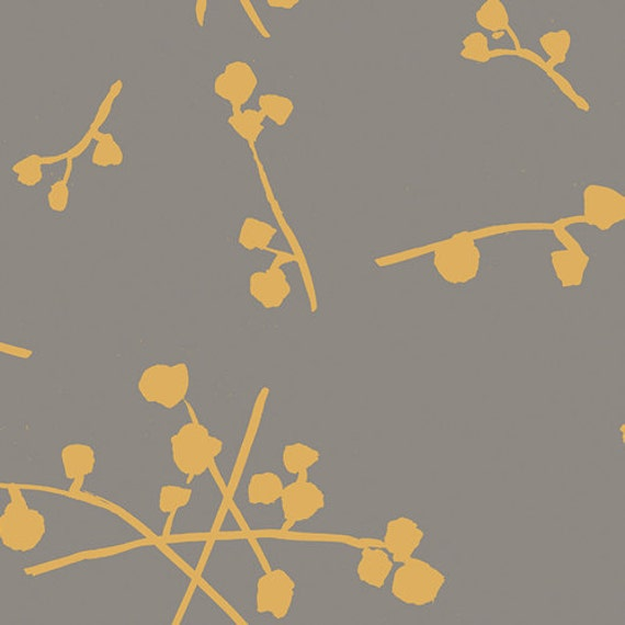 Imprint by Katarina Roccella for Art Gallery Fabrics -  Buttonballs in Gold