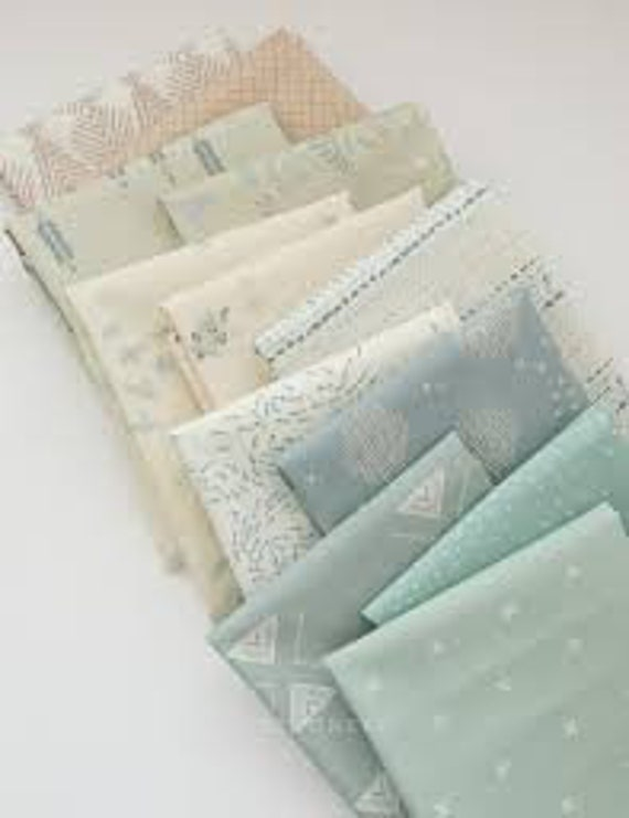 Fat Quarter Bundle of Serenity Fusion by Art Gallery Studio - 12 in Total