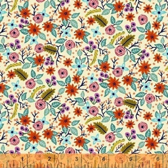 Meriwether by Amy Gibson for Windham Fabrics - Frolic in Farmhouse - Fat Quarter