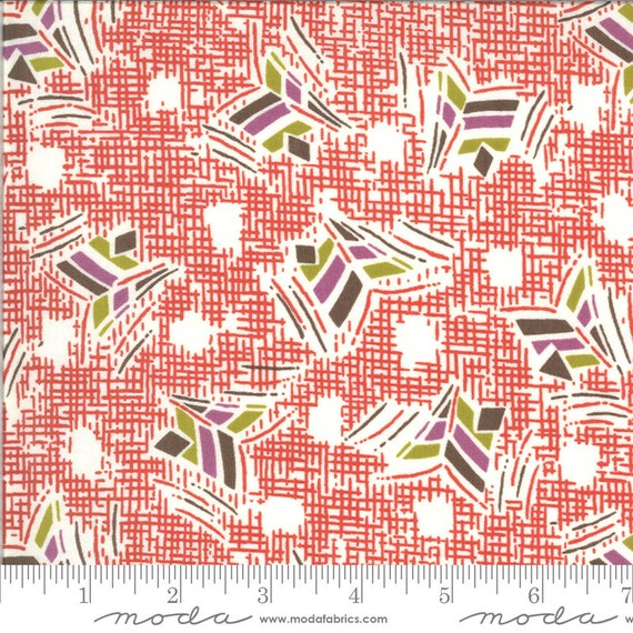 Moda Winkipop by Jen Kingwell -- Fat Quarter of 18192 13 Nara Rockface