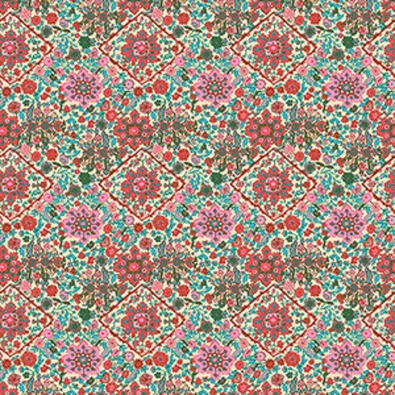 Amy Butler Soul Mate -- Fat Quarter of Kaleidoscope in Bone