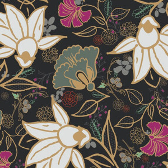 Spices Fusion by Art Gallery Fabrics - Wild Blooms in Spices - Fat Quarter
