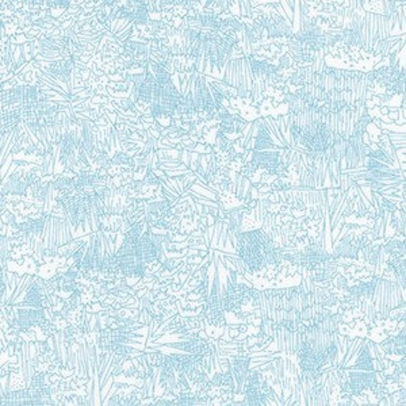 In Stock! Friedlander by Carolyn Friedlander - Fat Quarter- Green Wall Lawn in Fog