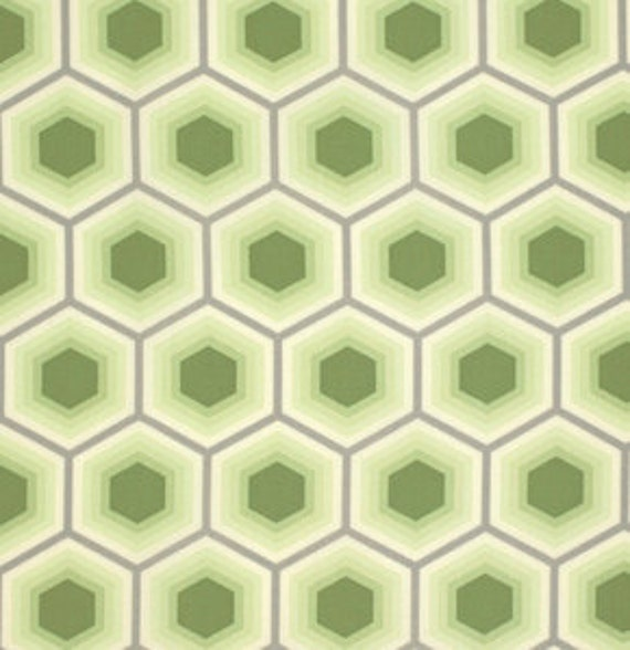 Fat Quarter Honeycomb in Sprout - Tula Pink Bumble
