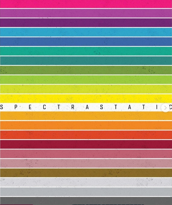 IN STOCK! Spectrastatic by Giucy Giuce for Andover Fabrics - Fat Quarter Bundle of 24