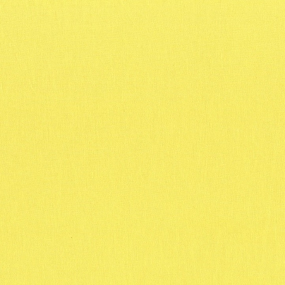 Canary Cotton Couture Solid by Michael Miller  - Half Metre Cut