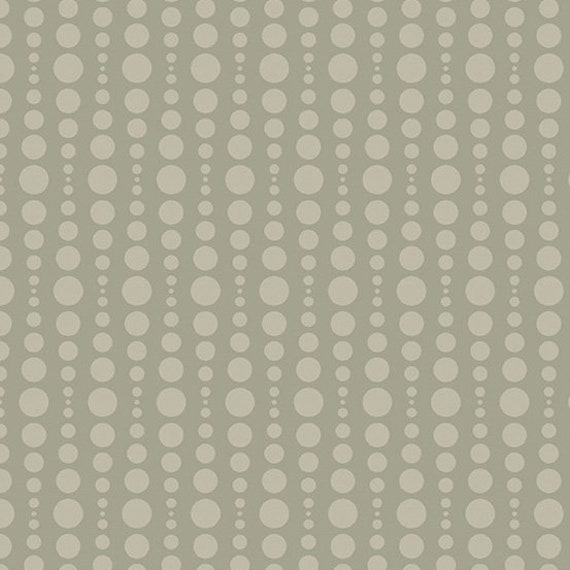 Stealth by Libs Elliot for Andover Fabrics -  Fat Quarter of Bubble in Khaki