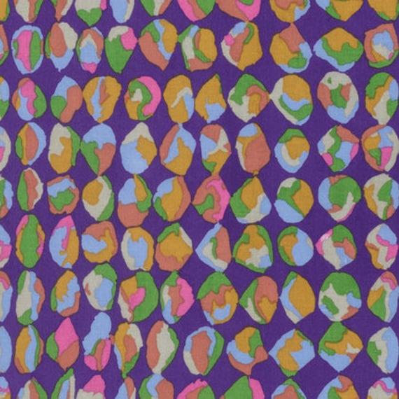 Kaffe Fassett Collective  -- Fat Quarter of Baubles in Purple