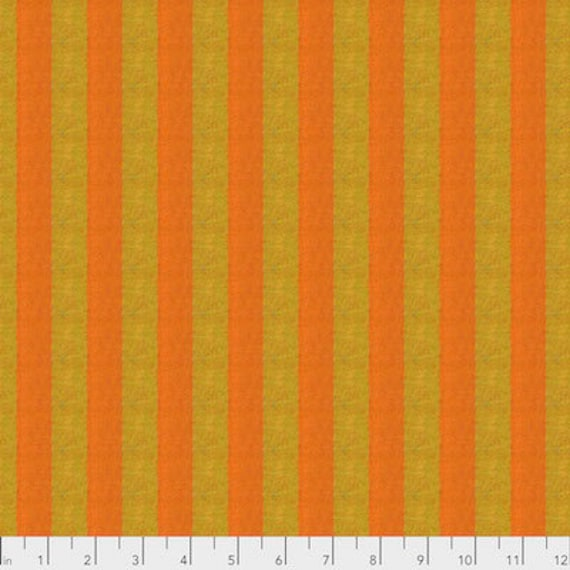 Kaffe Fassett Shot Cotton Stripes -  Fat Quarter of Tumeric in Wide Shot Cotton Stripe
