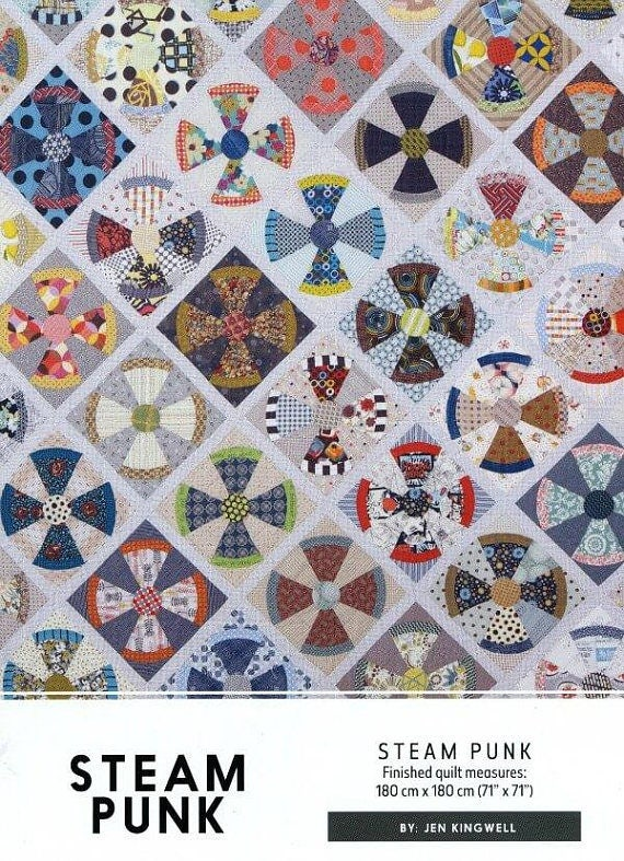 Steam Punk Quilt - Pattern by Jen Kingwell