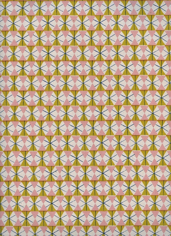 Welsummer by Kimberly Kight for Cotton and Steel -- Fat Quarter of Chicken Wire in Spring