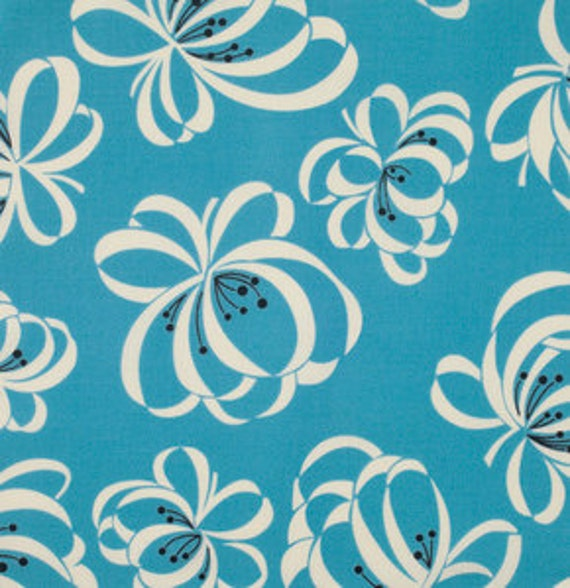 Katie Jump Rope by Denyse Schmidt for Free Spirit Fabrics -  Ribbons in Allure
