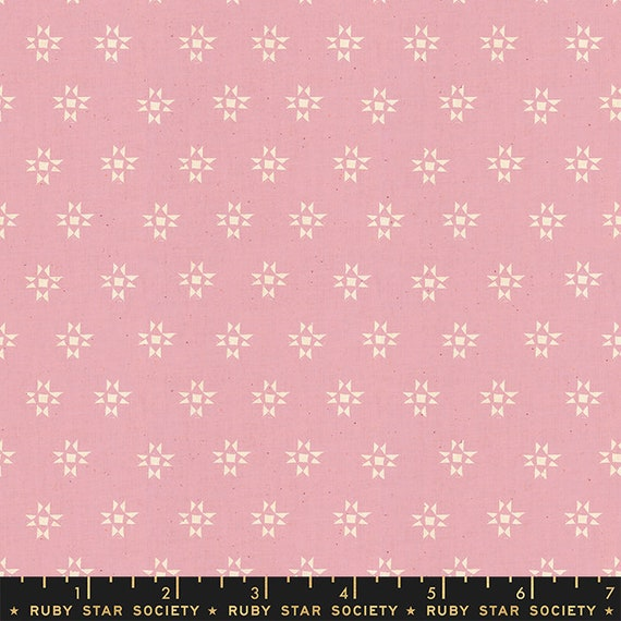 Heirloom Star Shine in Lavender (RS4025 11) by Alexia Marcelle Abegg for Ruby Star Society -- Fat Quarter