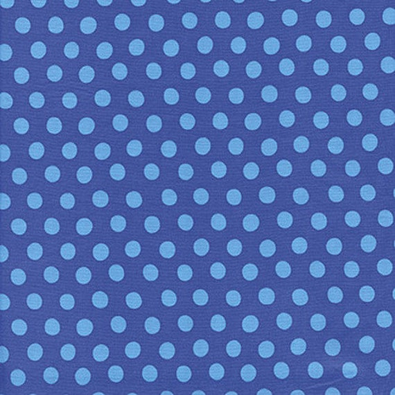 Kaffe Fassett -- Fat Quarter of Spots in Sapphire