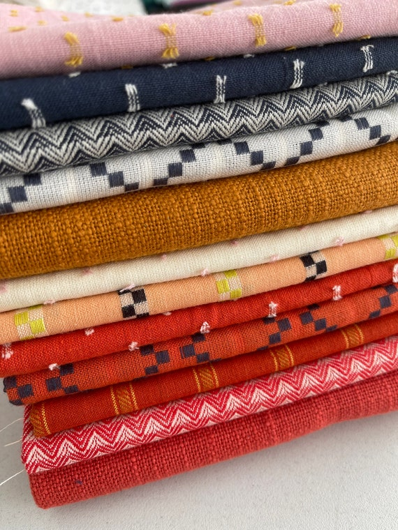 Warp and Weft by Alexia Marcelle Abegg -- Ruby Star Society, Fat Quarter Bundle of 12
