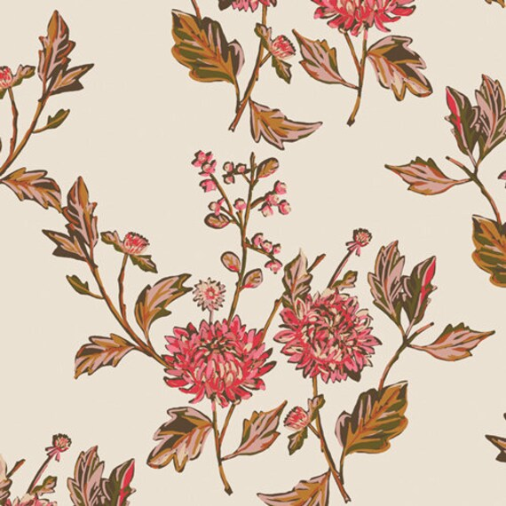 Kismet by Sharon Holland for Art Gallery Studio-  Fat Quarter of Cut Flowers Fortune