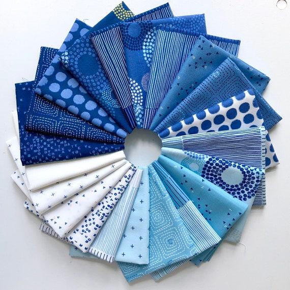 Breeze -- Fat quarter Bundle of 21 Fabrics by Zen Chic for Moda