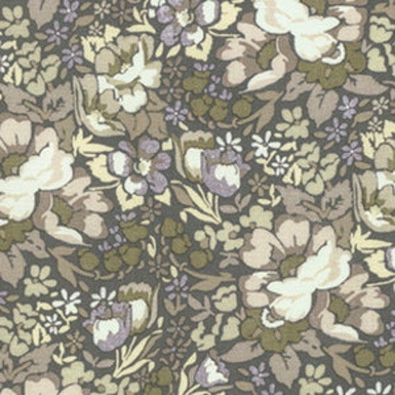 Skipping Stones by Anna Maria Horner for Free Spirit - Overachiever in Putty - Fat Quarter