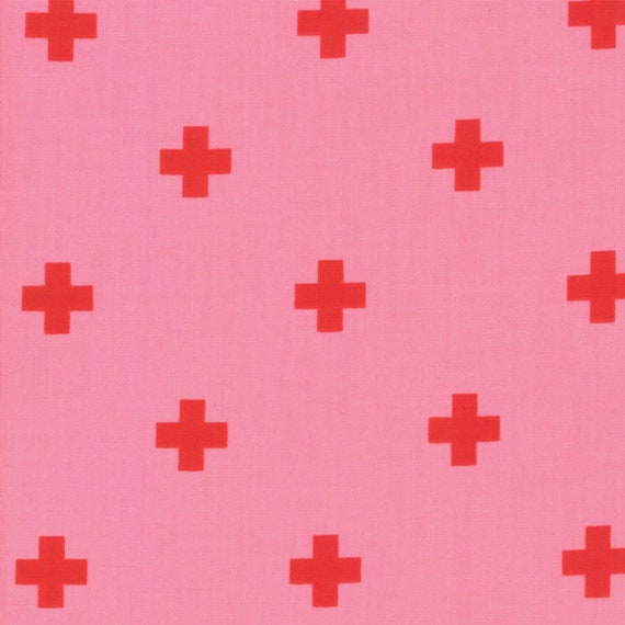 Just Red-- Plus in Candy (1702-15) by Zen Chic for Moda -- Fat Quarter