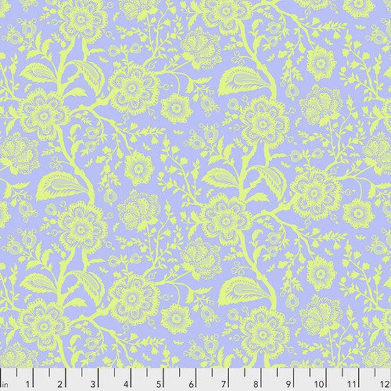 Fat Quarter Delight in Daydream  - Tula Pink's Pinkerville for Free Spirit Fabrics