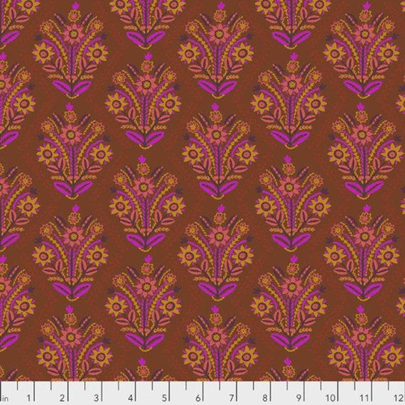 Tambourine by Anna Horner for Free Spirit Fabrics - Stitchery in Brass