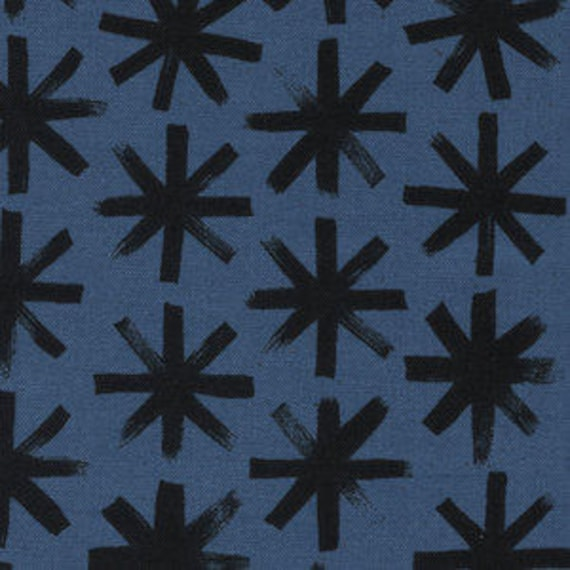SS Bluebird by Cotton and Steel - Fat Quarter- Plink Plink in Black