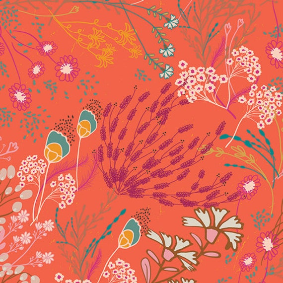 Legendary by Pat Bravo for Art Gallery Fabrics -  Fat Quarter of Meadow Boho