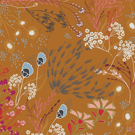 Trinkets Fusion by Pat Bravo for Art Gallery Fabrics -  Fat Quarter of Meadow Trinkets