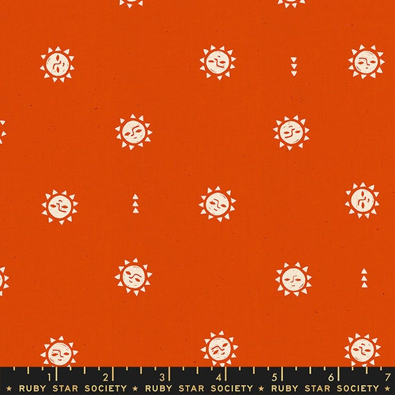 Golden Hour -- Sunrise in Warm Red (RS4019-16) by Ruby Star Society for Moda -- Fat Quarter