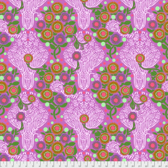 Passion Flower by Anna Horner for Free Spirit Fabrics - Imposter in Candy