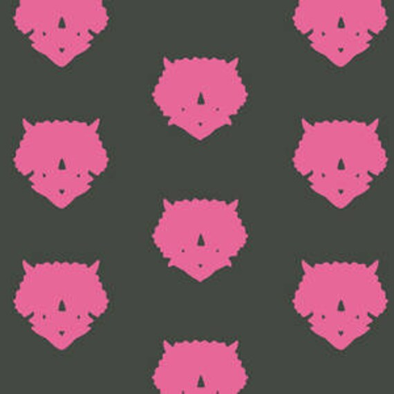 Esoterra by Katarina Rocella for Art Gallery Fabrics - Triceratops in Pink