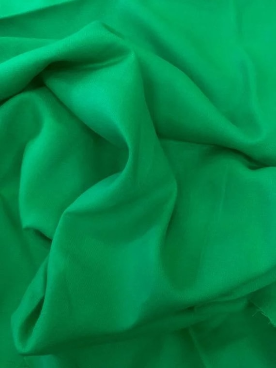 Rossini Linen in Spring Green - Purchase in 50cm Increments