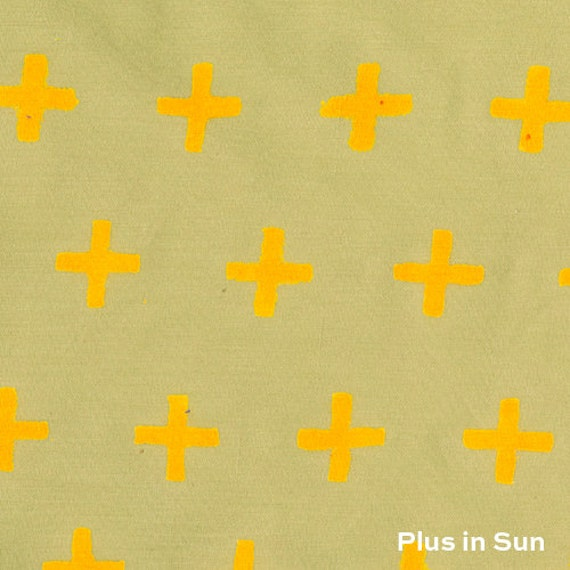 Fat Quarter of Plus in Sun -- Handcrafted 2 by Alison Glass