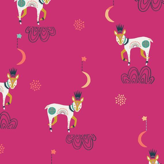 Lugu by Jessica Swift for Art Gallery Fabrics - Fat Quarter of Sleep Tight Daydream