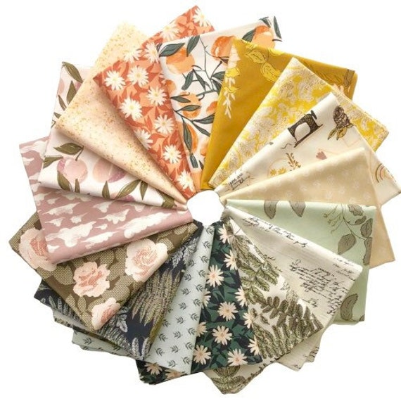 Her and History by Bonnie Christine for Art Gallery Fabrics - Fat Quarter of Bundle of all 16