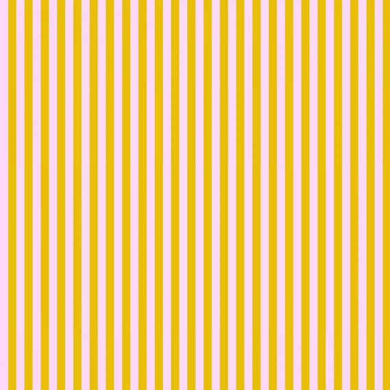 Fat Quarter Tent Stripe in Marigold  - Tula Pink's All Stars Fabric for Free Spirit Fabrics